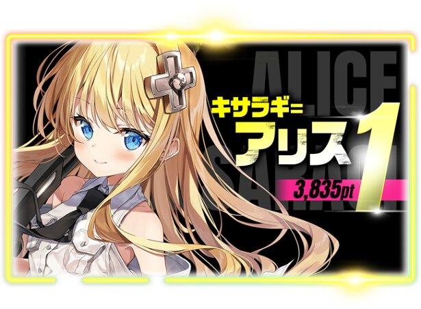 第1位・キサラギ=アリス