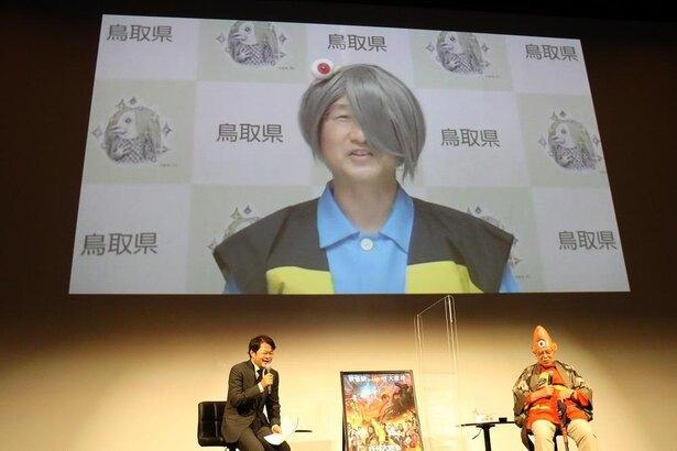 水木しげるさんのふるさと・鳥取の平井伸治県知事は鬼太郎の格好で参加