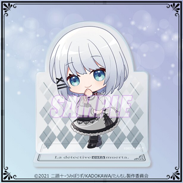C賞:アクリルスタンドフィギュア mini(全9種) ※画像は通常服ver.