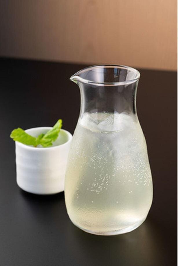 コラボドリンク例(かぼす酒※アルコール)