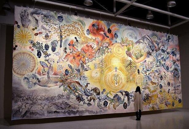 大小島真木 +アグロス・アートプロジェクト 《 明日の収穫 》