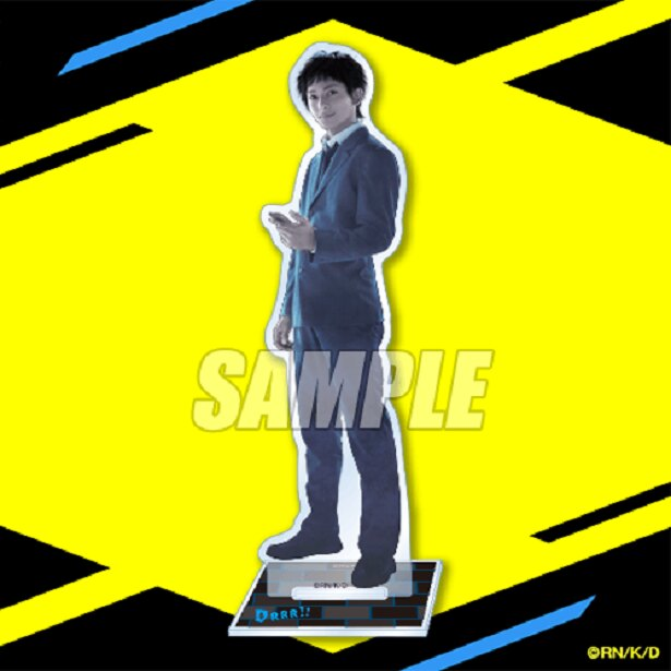 A賞:アクリルスタンドフィギュア(全6種) ※画像は竜ヶ峰帝人/橋本祥平